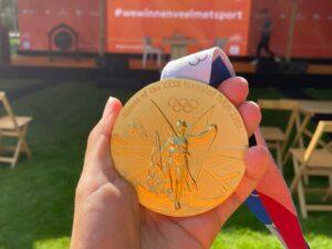 Sporten met Olympische spelers: een kleine overwinning op mezelf